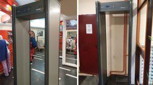 Hotel Kasina - metal detektor vrata